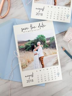 "Free Printable ""Calendar Style"" Photo Save The Dates Are The Best! These DIY calendar style photo save the dates are SO cute!These DIY calendar style photo save the dates are SO cute! Diy Save The Dates, Save The Date Photos, Wedding Save The Dates, Save The Date Cards, Rustic Wedding Save The Date Ideas, Save The Date Ideas Diy, Rustic Save The Dates, Save Date, Save The Date Designs"
