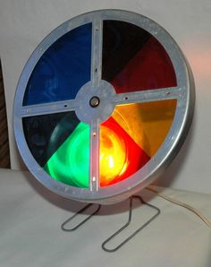 a color wheel for your aluminum tree!