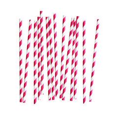 Queste meravigliose cannucce dallo stile retrò sono prodotte interamente da fonti rinnovabili.  Sono biodegradabili e senza cloro.  Cannucce eco-friendly che daranno un tocco in più ai vostri cocktail; potrete usarle per decorare le vostre torte come cake toppers o come bastoncini per preparare golosi cake pops.  Confezionate in pacchi da 25 cannucce in carta.  http://partypops.it/