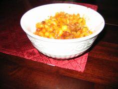 MEXICAN CASSEROLE LUNCH/ DINNER http://foodstoragemadeeasy.net/2009/03/01/mexican-casserole-food-storage-style/