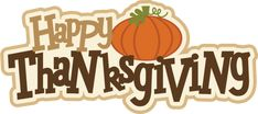 Happy Thanksgiving Title - happythanksgivingtitle1113 - Thanksgiving - Miss Kate Cuttables |