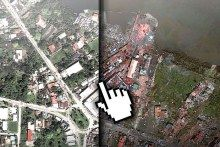 Extraordinary 'Before and After' aerial pics from Tacloban, Philippines
