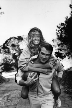 Farrah Fawcett & Lee Majors