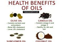 HEALTH BENEFITS OF VARIOUS OILS