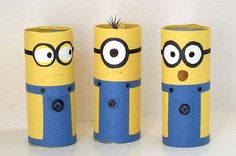 Don't waste those toilet paper tubes! Make some fun crafts with the kiddos instead!