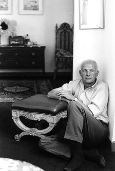 Henri Cartier-Bresson (1908-2004) - French photographer, considered to be the father of photojournalism. Photo © Chiara Samugheo