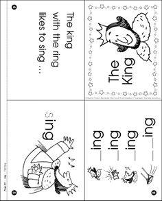Sing, Bird! (Word Family -ing): Word Family Poetry Page ...