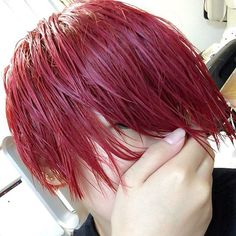 HiNoRi @hinori0718 New hair#赤...Instagram photo | Websta (Webstagram)