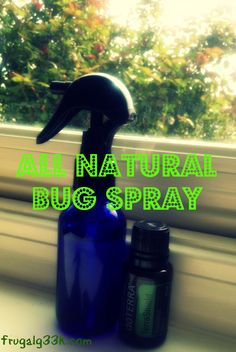 All Natural Bug Spray Recipe 2 ounce glass water bottle 2 ounces of purified water 10 drops of Terrashield essential oil blend Essential Oil Bug Spray, Essential Oil Uses, Natural Essential Oils, Young Living Essential Oils, Natural Oils, Yl Oils, Aromatherapy Oils, Doterra Essential Oils, Bug Spray Recipe
