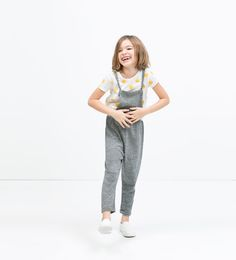 Image 1 of KNOT STRAP DUNGAREES from Zara