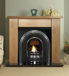 1000 Images About Wooden Fireplaces On Pinterest