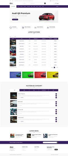 iBid - CARS & AUTOMOTIVE AUCTIONS auction site auctions site auction wordpress auction platform auctions website auction website Wordpress, Auction, Platform, Cars, Website, Autos, Car, Heel, Wedge