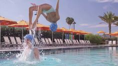 Aqualillies ~ The World's Most Glamorous Water Ballet. Diving off the pages of Vogue, Marie Claire, The New York Times and LA Times Magazine...