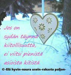 Finnish Words, Gratitude, Thankful, Christmas Ornaments, Holiday Decor, Grateful Heart, Christmas Jewelry, Christmas Decorations, Thanks