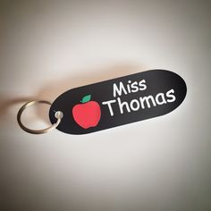 Personalised teacher keyring gift!!  Ideal end of year present.
