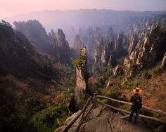 Wulingyuan historic area, Hunan Province, China
