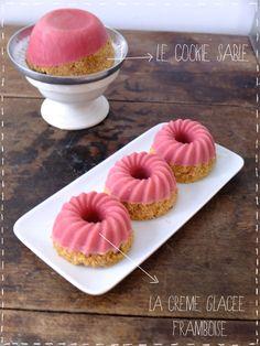 Pink ice cookie cream | Make my lemonade