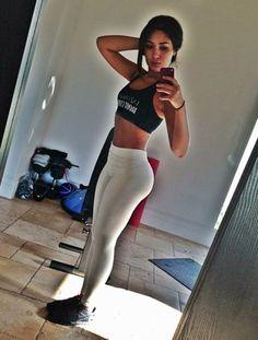 Sexy Sport Girls In Tight Leggings (40 pics) | FunnyAndStupid.com