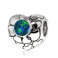 Sterling Silver Love Heart Bead Charm with Lab Blue Opal ARG http://www.amazon.com/dp/B005CRSJW2/ref=cm_sw_r_pi_dp_gBtUvb0XCT6F1