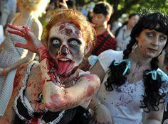 October 2011 Sunday 23 Brisbane Zombie Walk