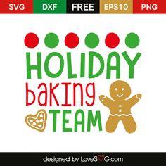 Holiday backing team