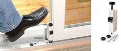 Secure Patio Doors - Patio door locks are easy to pick. Placing a heavy-duty stick in the door track will bar the door closed, but it looks crude and it's inconvenient to remove every time you want to open the door. Fortunately, there's a better way to get the security you need. Andersen Corp.'s auxiliary foot lock (andersenwindows.com) fastens along the bottom of the door and has a bolt that fits into a grommet to hold the door secure. A similar lock, the Door Guardian (thedoorguardian.com)…