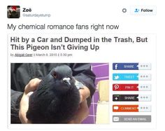 But most importantly, fans were willing to put the past in the past: | Everyone Is Going Emo Again Over My Chemical Romance's Return