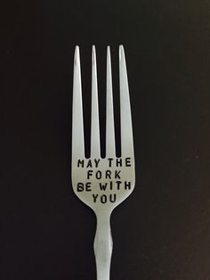 This punny Star Wars fork. | 27 Wonderfully Geeky Products You Never Knew Your Kitchen Needed