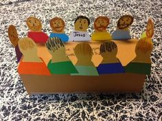 Children's Bible Lessons: Lesson - The Last Supper