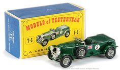 Matchbox Models of Yesteryear No.Y5-2-3 4.5 Litre Bentley
