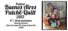 Buenos Aires Patch  17 e 18 de noviembre  talleres y produtos exclusivos