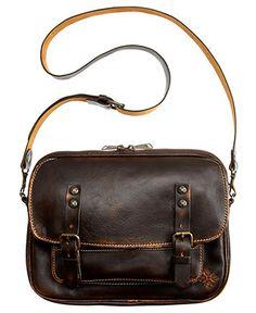 Patricia Nash Handbag, Over-Dyed Leon Flap Crossbody - Crossbody & Messenger Bags - Handbags & Accessories - Macy's