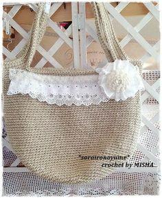 crochet by *soraironoyume*MISHA http://ameblo.jp/soraironoyume-misha/entry-11757704762.html