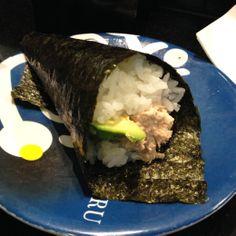 Sushi Hotaru (Melbourne CBD): Cooked Tuna Hand Roll.