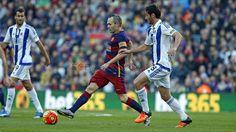 FC Barcelona 4 - 0 Reial Societat #FCBarcelona #Game #Match #Liga