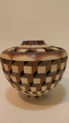 Segmented Wood Tessellation on Etsy, $265.00