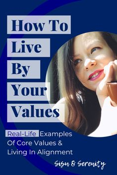 I made this very personal. You see, instead of general examples, I wrote everything from my perspective: How I'm living in alignment with my values.  #valuesdrivenlife #intentionalliving #aligned Personal Core Values, Your Values, Coping With Stress, Meaningful Life, Confidence Building, Work Life Balance, Mindful Living, Stress Relief, Life Goals