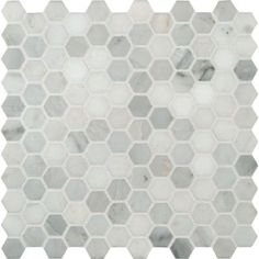 MS International Greecian White Hexagon 12 in. x 12 in. x 10 mm Polished Marble Mesh-Mounted Mosaic Tile-GRE-1HEXP at The Home Depot