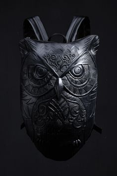R-90 Owl Embossing Backpack.