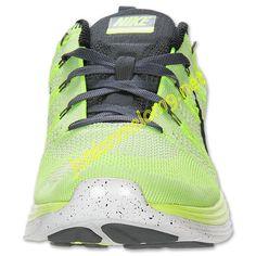 Volt 554887 705 Nike Flyknit Lunar 1 Mens Black White Pure Platinum Dark Grey