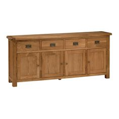 Lyon Oak Extra Large Sideboard (L446) with Free Delivery   The Cotswold Company - G2183