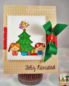 Latina Crafter - Sellos en Español: Arbol de Navidad: Inspiración con el Equipo de Diseño