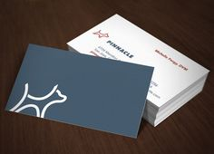Veterinary business card business cards business and unique simple logo and card colourmoves