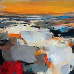 "Saatchi Art Artist Ute Laum; Painting, ""Abstract painting Exploration"" #art"