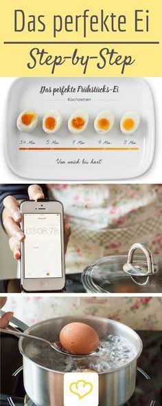 Ein Guide für alle, denen ihr Frühstückei heilig ist! Mit diesen Tipp&Tricks wird's perfekt -versprochen! Alles rund ums Eier kochen!