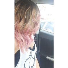 Ombre Hair ❤ liked on Polyvore featuring hair and colored hair