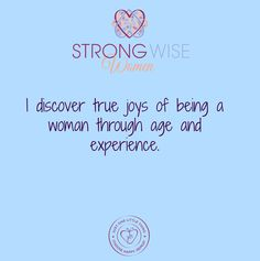Affirmations-Aging with Grace | Strong Wise Women