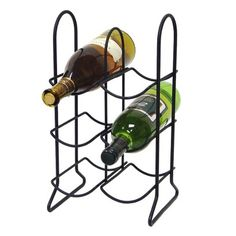 Townhouse 6-Bottle Wine Rack - Black  Target in Home section $18.99