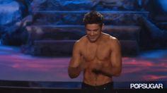Pin for Later: Seht all die verrückten Momente der MTV Movie Awards — als GIFs Als uns Zac Efron Küsse zuwarf Source: MTV