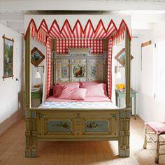 100 Comfy Cottage Rooms | Storybook Bedroom | CoastalLiving.com